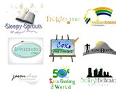 Customized Logo for your business or event