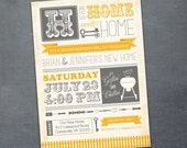 Housewarming Party, New Home, Housewarming BBQ (PRINTABLE)