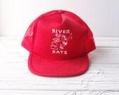 "Vintage ""River Rats"" trucker hat"