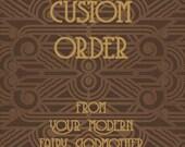 Custom Order       'Eimear' dress. For Missyable.