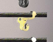 Wrought Iron Hooks for Hanging S.D.G. Tiles