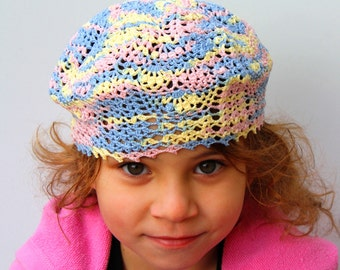 Crocheted Summer Hat for kids