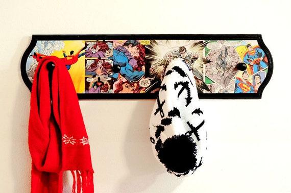 Superman Coat Rack Superhero Home Decor Superman And Lois