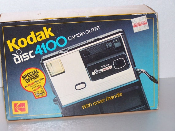 Vintage Kodak Disc 4100 Camera Outfit New in Package