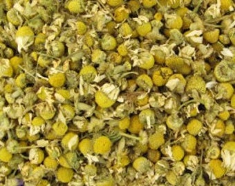 1 Cup Dried German Chamomile Flowers, organic tea, premium culinary grade