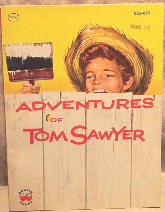 Book Wonder Books Adventures of Tom Sawyer Mark Twain David O. Selznick