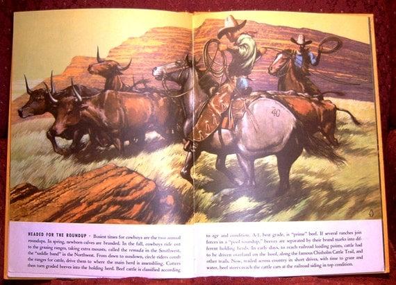 Book The Big Book Of Cowboys 1950 by Sydney E. Fletcher