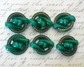 Vintage Art Deco Style Celluloid Buttons by BGE Originals