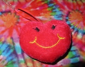 Kitsch Plush Heart Necklace