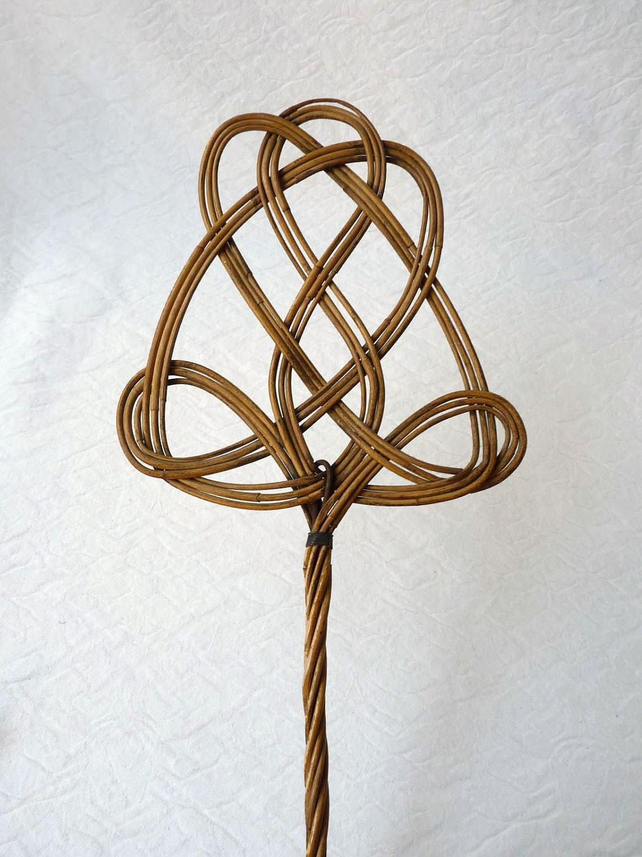Sacudidor de alfombras de bamb poca eduardiana - Alfombras de bambu ...