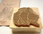 Rubber stamp for children - Back to school seal  - DIY Rubber stamp projects for kids -Personalizing objects -Rubber stamp