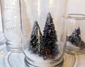 Nostalgic Glass Jar Snow Globe - Large
