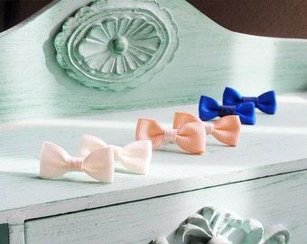 Sweet Bows Stud Earrings Trio