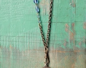 Necklace No. 24 with Hand-Sourced Vintage French Charm