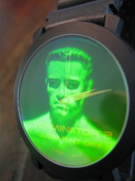 Hologram Watch - TERMINATOR 2  Judgement Day Arnold Schwarzenegger