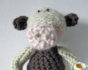 Crochet Pattern for Mister Moo