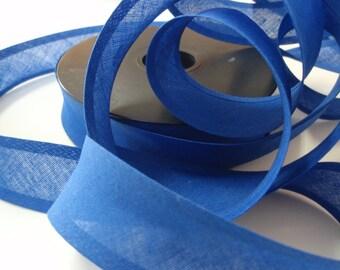 """Bias Tape Binding Royal Blue 1""""width 10Yards"""