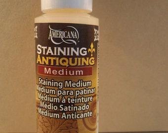 Staining Antiquing Medium for Acrylics