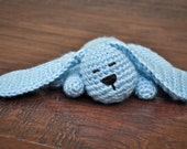Crochet Toy - Sleepy Puppy- MADE TO ORDER