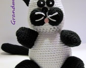 Crochet Cat, Crochet Kitty, Amigurumi Cat, Stuffed Cat, Stuffed Animal, Cat