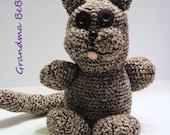 Crochet Cat, Crochet Kitty, Amigurumi Cat, Stuffed Cat, Stuffed Animal, Cat