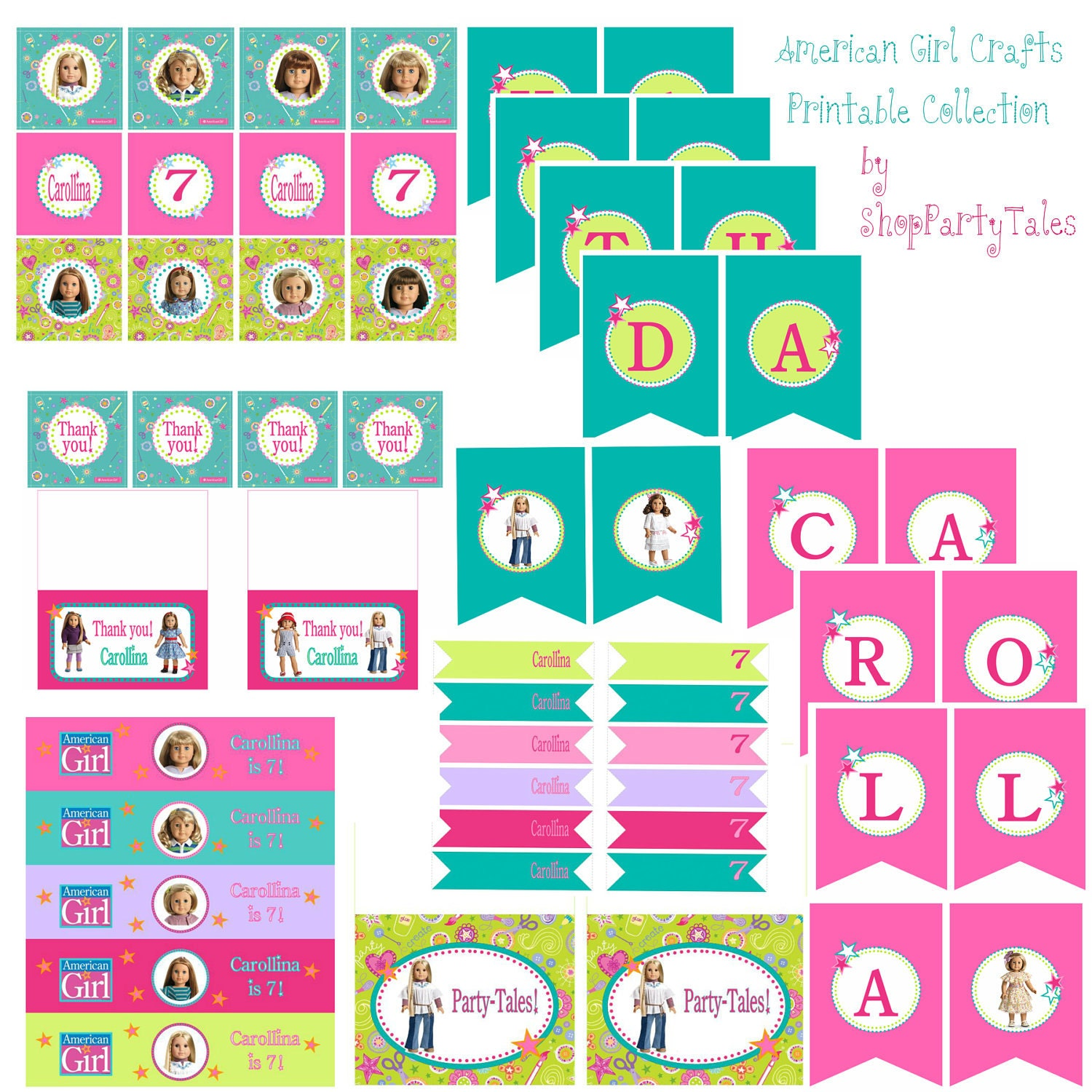 It's just a graphic of Punchy American Doll Printables