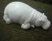 Hippo Soap- Vegan Glycerin Soap- Gray Soap