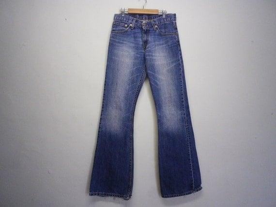 Rare Levis Bell Pants Spanish Vintage Clothing Denim Jeans