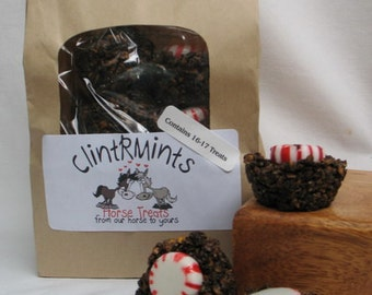 Yummy ClintRMint Horse Treats with Peppermints, 7 - 1lb Bags