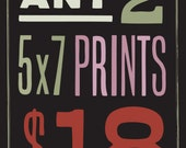 Your Choice of any 2 5x7 Prints