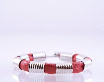 Pretty leather bracelet