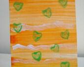 ACEO Original Acrylic Art Card - OOAK - Autumn Series 2