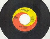 Merle Haggard vintage vinyl 45 rpm California Blues