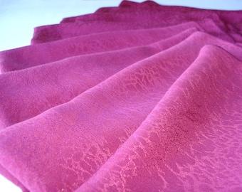 Pink scarf, natural silk scarf, deep pink scarf, eco friendly scarf, raspberry silk scarf, rose scarf, natural, eco, organic, raspberry pink