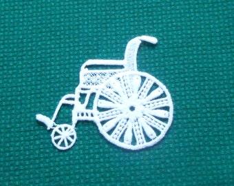 Lace Applique - Wheelchair