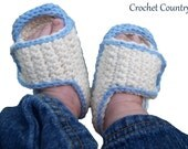 Baby's Crochet Shoes