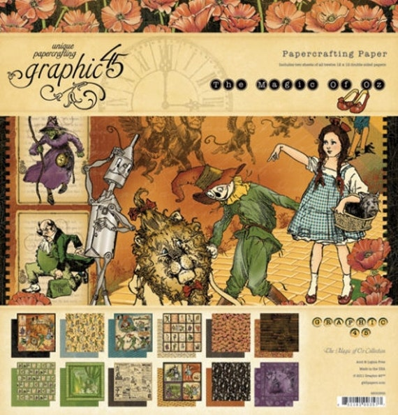Wizard of Oz Scrapbooking Paper