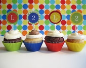 CUSTOMIZED Sesame Street Cupcake Toppers, PDF