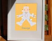 Robot Paper Doll