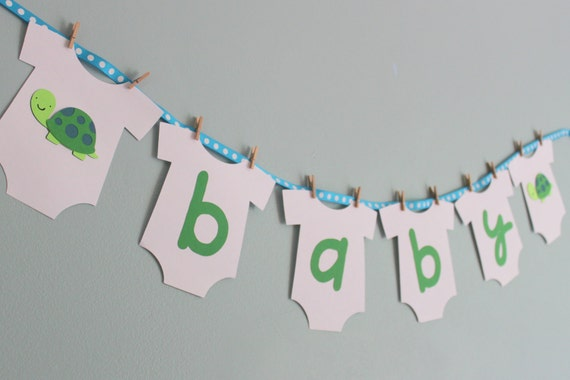 turtle baby shower banner turtle baby shower decorations boy baby