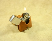 The Hemingway Special - Whiskey Tan Zippo Lighter Case - Pipe Stand - Belt Pouch