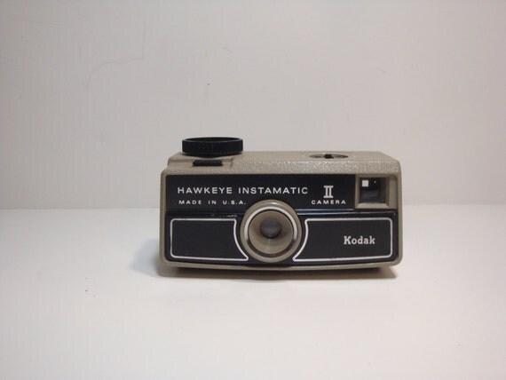 Vintage Hawkeye Instamatic II camera, by Kodak