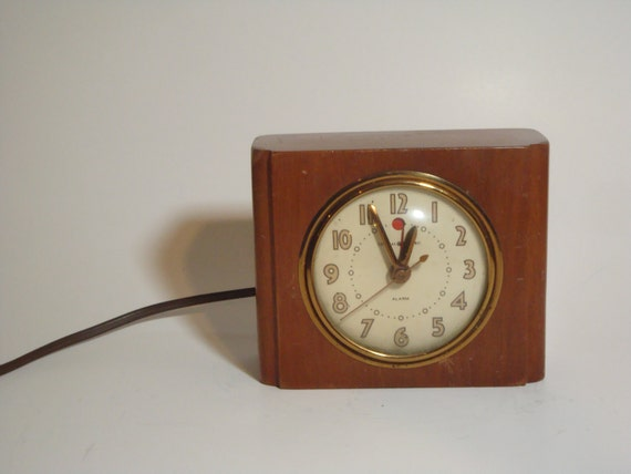 Electric Alarm Clock ~ Vintage ge general electric alarm clock s