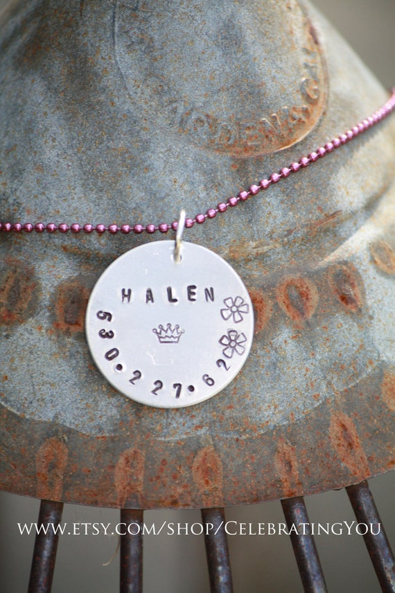 Children's Identification Necklace