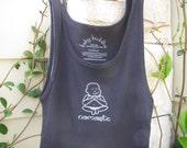 namaste baby buddha organic yoga tank (size: small)