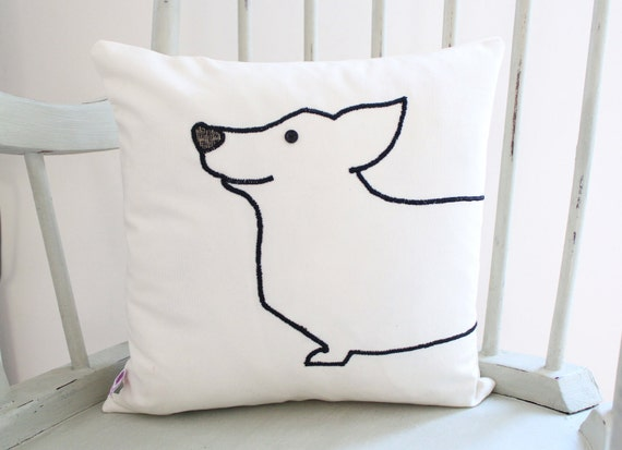 Corgi Cushion Cover