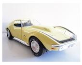 1969 Corvette collectible HotWheels car 1:18