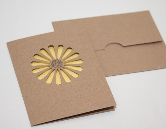 Flower Greeting Card, Plantable Black-Eyed Susan
