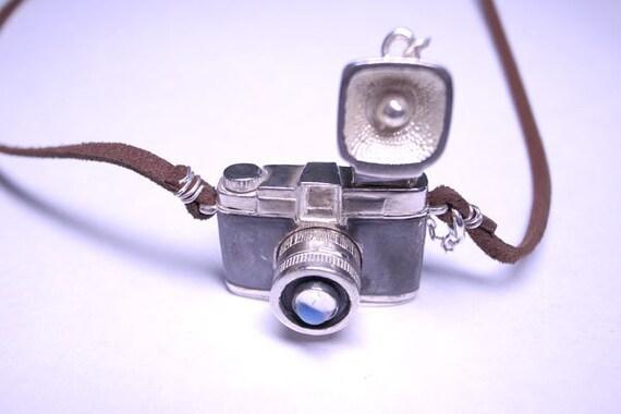 Moonstone Diana F Plus Classic Lomo Silver Camera