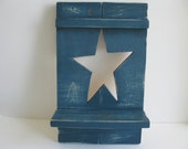Wooden Country Star Shelf